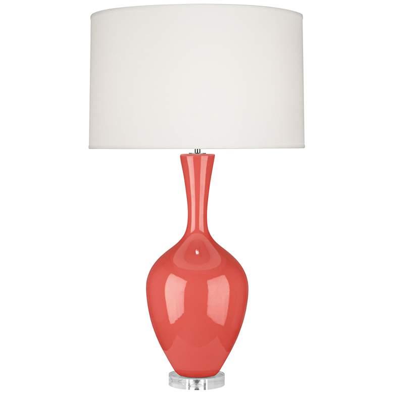 Robert Abbey Audrey Melon Ceramic Table Lamp