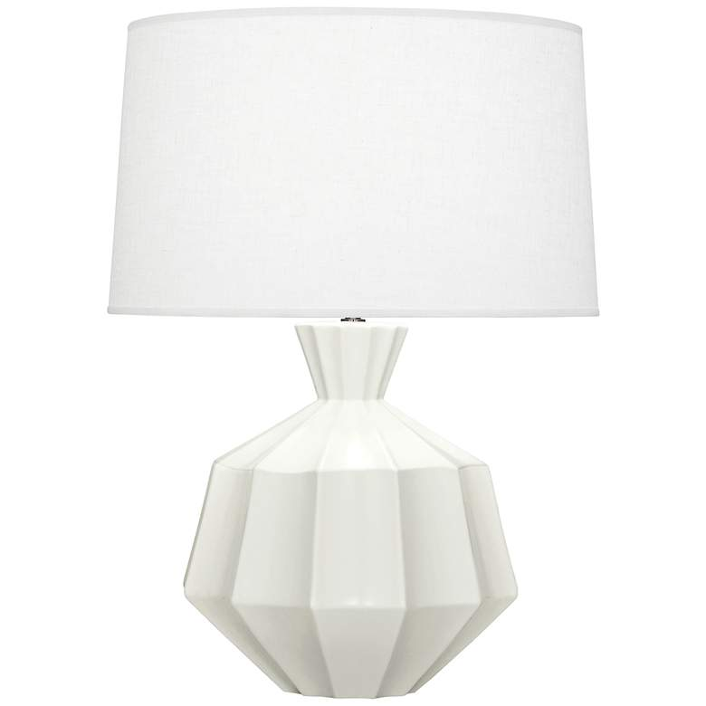 "Robert Abbey Orion 27"" Matte Lily Ceramic Table Lamp"