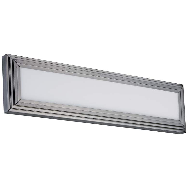 "Maxim Picazzo 24"" Wide Satin Nickel LED Bath Light"