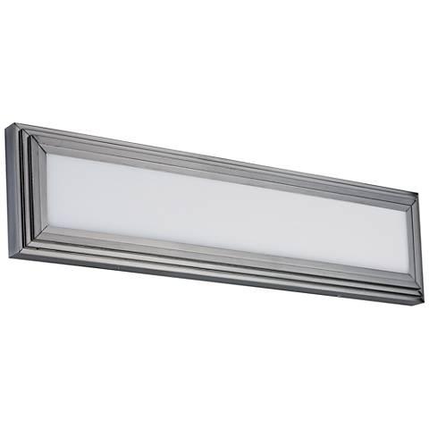 "Maxim Picazzo 24"" Wide Satin Nickel LED Bath Light"