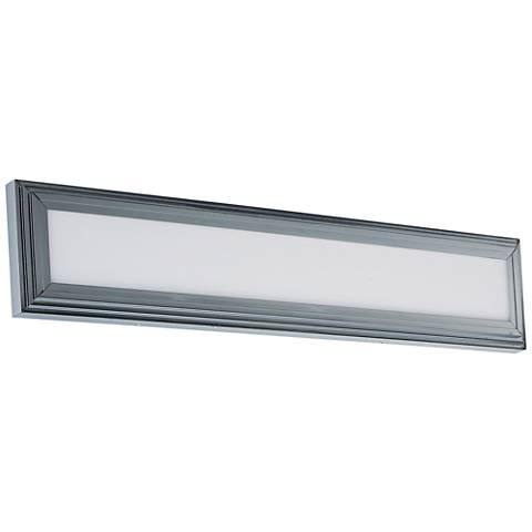 "Maxim Picazzo 30"" Wide Polished Chrome LED Bath Light"