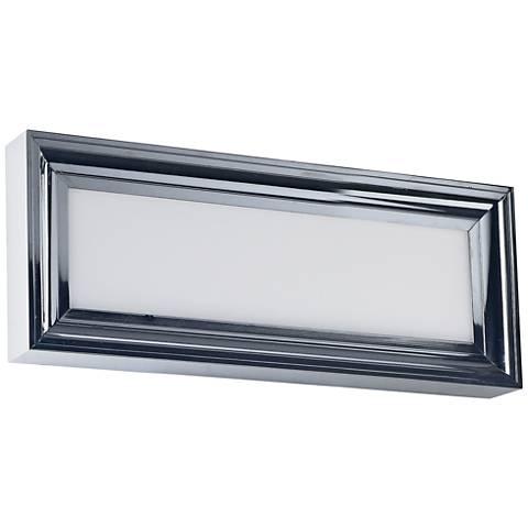 "Maxim Rembrant 18"" Wide Polished Nickel LED Bath Light"