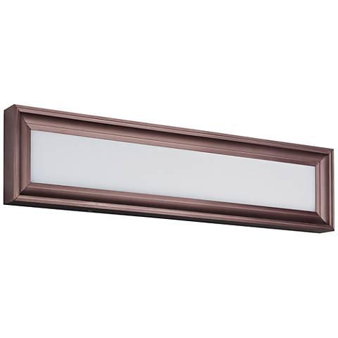 "Maxim Rembrant 24"" Wide Anodized Bronze LED Bath Light"