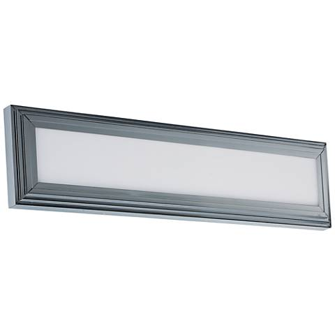 "Maxim Picazzo 24"" Wide Polished Chrome LED Bath Light"