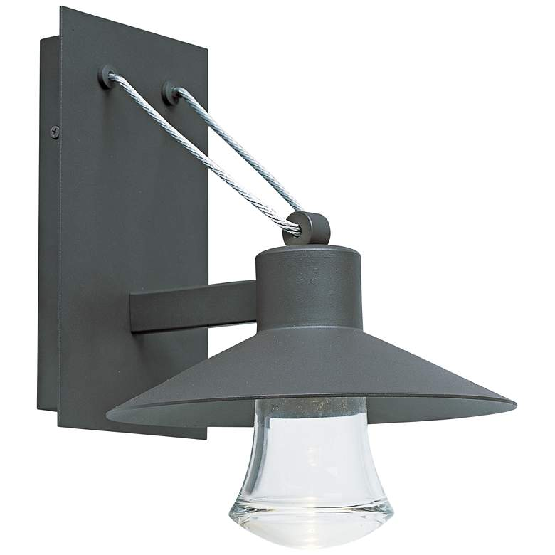 """Civic 12 1/2""""H Architectural Bronze LED Outdoor Wall Light"""