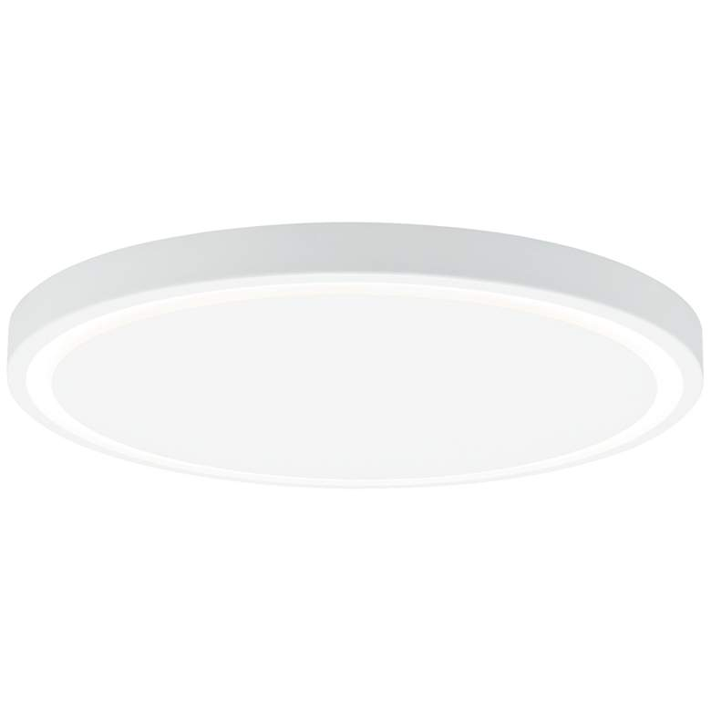 "LBL Crest 20"" Wide White LED Ceiling Light"