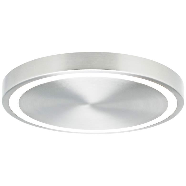 "Tech Lighting Crest 12 1/4""W Satin Nickel LED Ceiling Light"