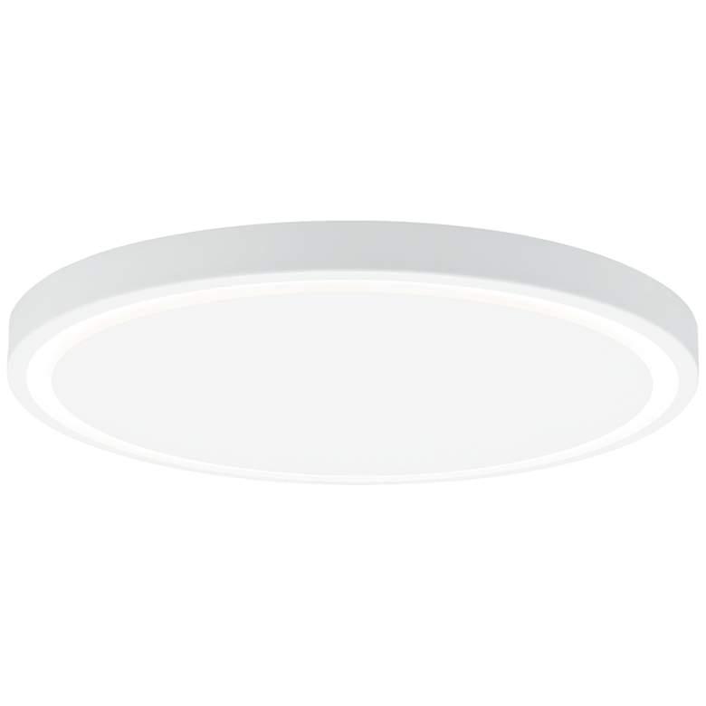 """Crest 17"""" Wide White LED Ceiling Light"""