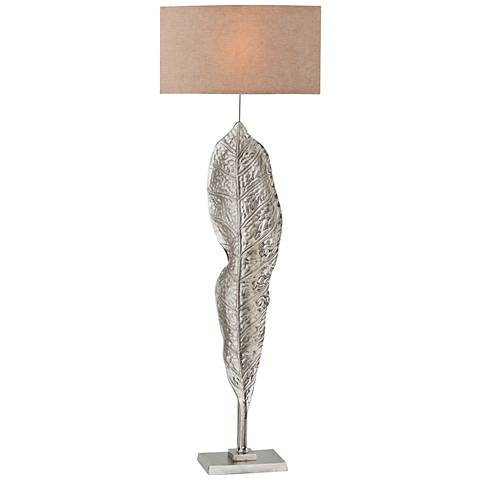 Katerini Nickel Metal Floor Lamp