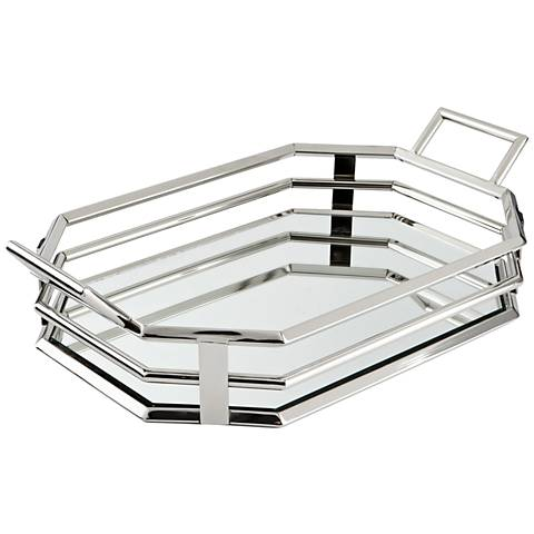 Layers of Meaning Stainless Steel Tray