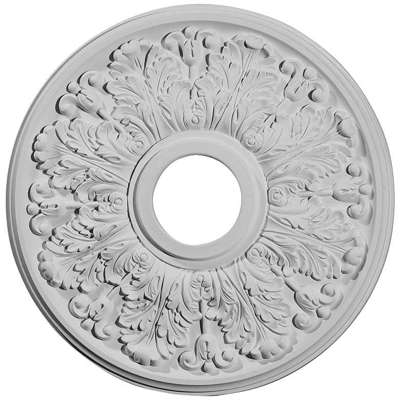 Pascola 22 1 2 Quot Wide Vintage Gold Leaf Ceiling Medallion