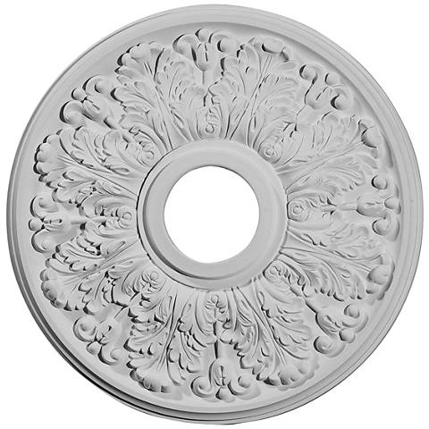 "Apollo 16 1/2"" Wide Primed Round Ceiling Medallion"