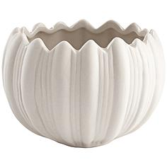 Spirit Flame White Ceramic Small Votive Candle Holder