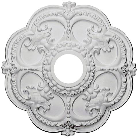 "Rotherham 18"" Wide Primed Round Ceiling Medallion"