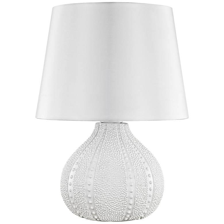 "Aruba White 19"" High Outdoor Accent Table Lamp"