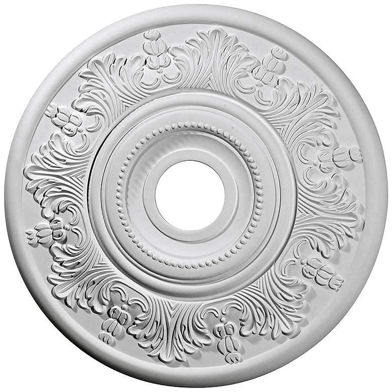 """Vienna 20"""" Wide Primed Round Ceiling Medallion"""