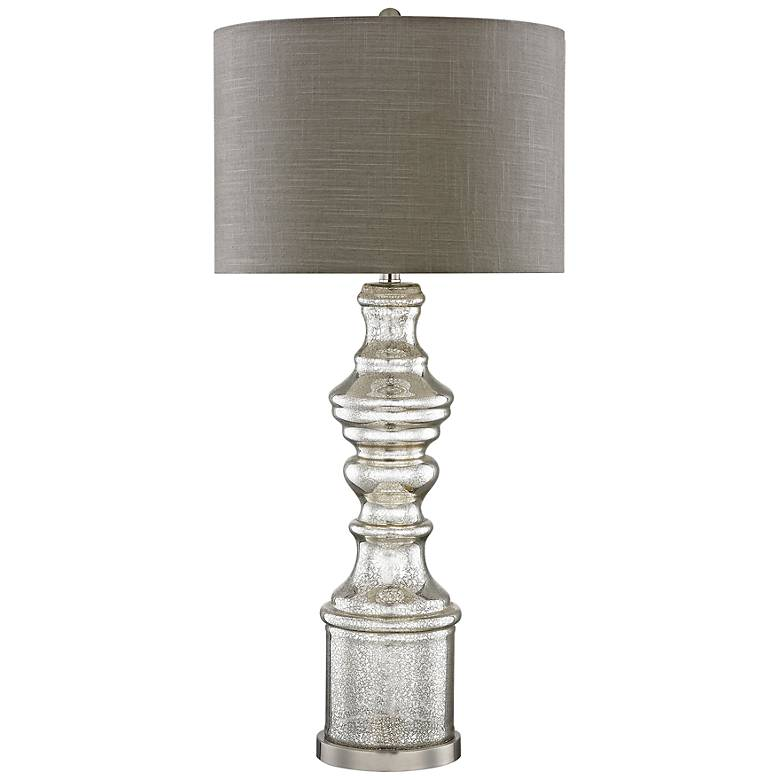 Roxie Silver Mercury and Glass Table Lamp