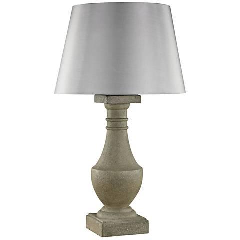 Saint Emilion Concrete Outdoor Table Lamp