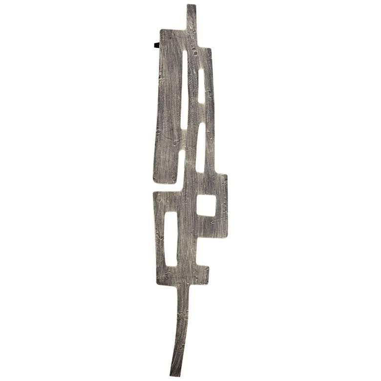 "Cyan Design Samurai Tower 40 1/2""H Small Metal Wall Art"