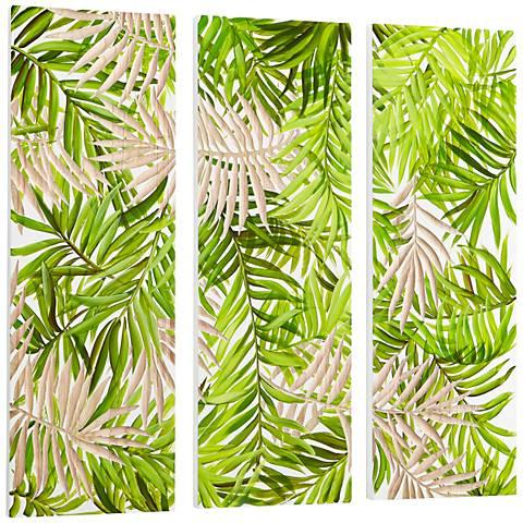 "Cyan Design Amazon Green 3-Piece 47 1/4"" Square Wall Art Set"