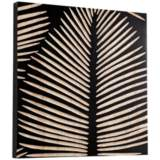 "Cyan Design Aruba Black 23 3/4"" Square Wood Wall Art"