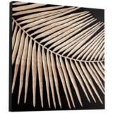 "Cyan Design Destin Black 23 3/4"" Square Wood Wall Art"