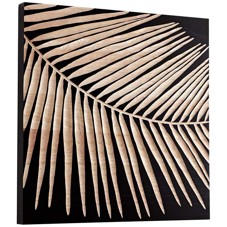 "Cyan Design Destin Black 23 3/4"" Square Wood"