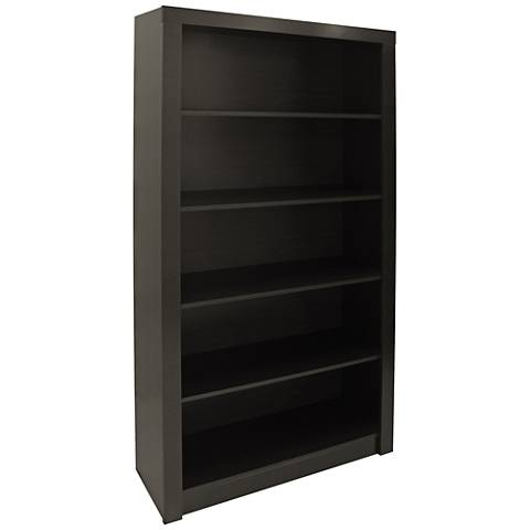 Accentuations Olinda 1.0 Tobacco 5-Shelf Bookcase