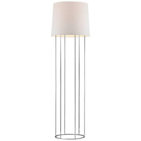 Dimond Ari Barrel Frame Polished Chrome Floor Lamp