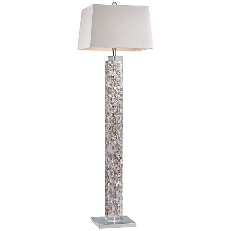 Castie Mother of Pearl Floor Lamp