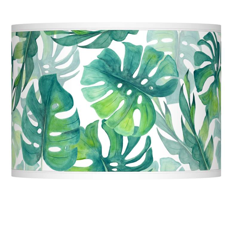 Tropica Giclee Lamp Shade 13.5x13.5x10 (Spider)