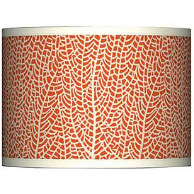 Stacy Garcia Seafan C Giclee Lamp Shade 13 5x13 5x10 Spider