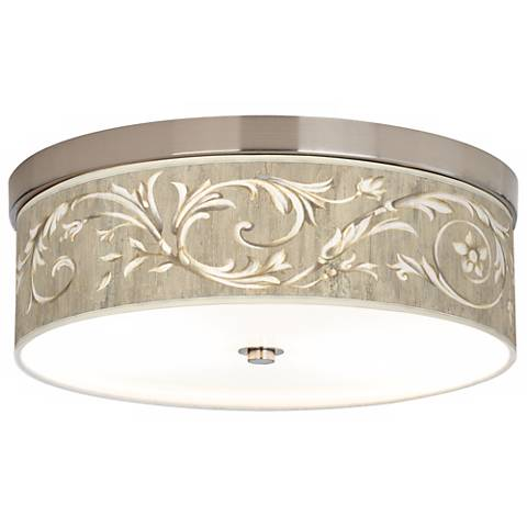 Laurel Court Giclee Energy Efficient Ceiling Light