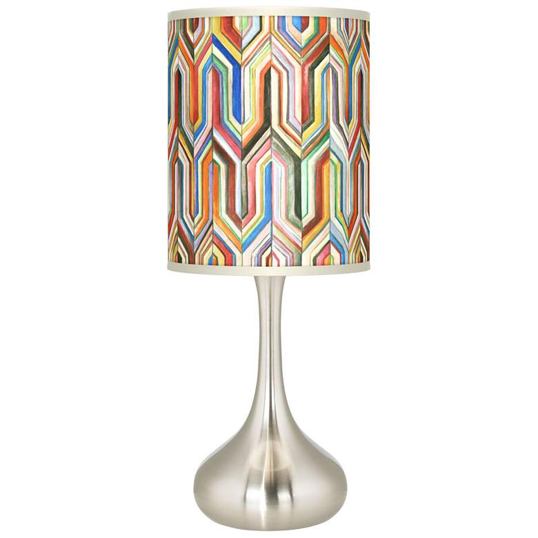 Synthesis Giclee Droplet Table Lamp