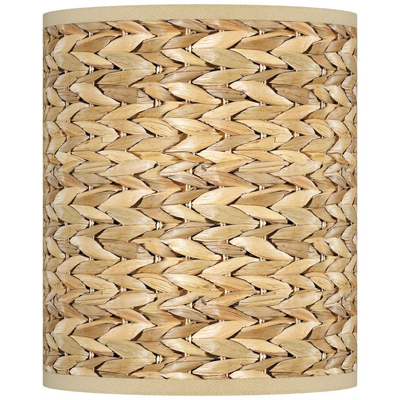 Seagrass Print Pattern Giclee Shade 10x10x12 (Spider)