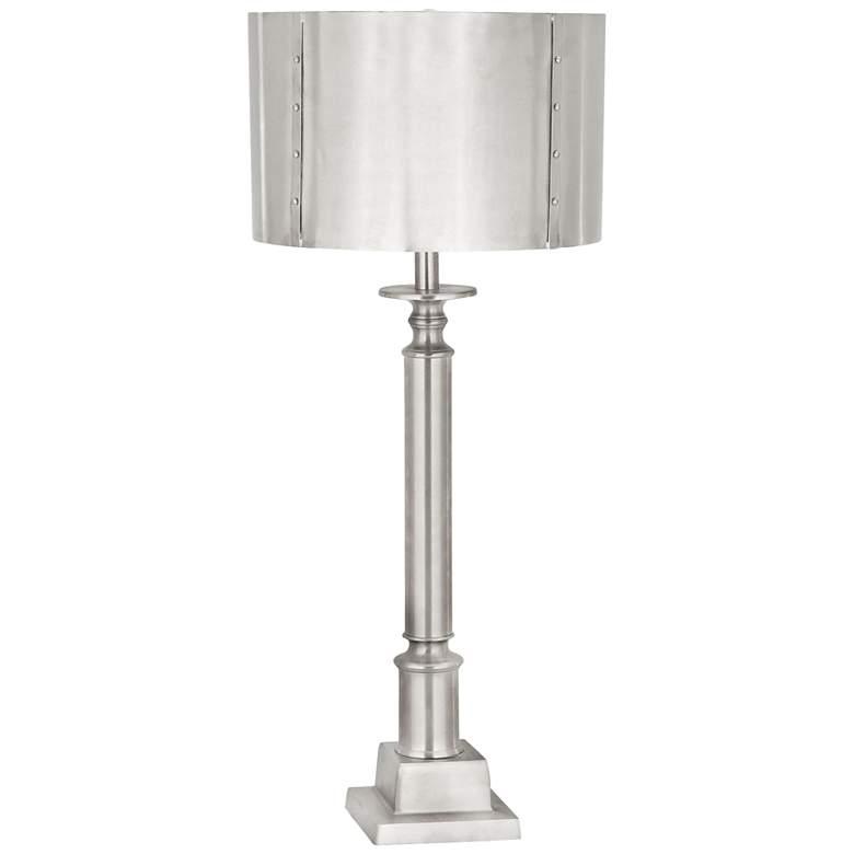 Gazette Nickel Metal Table Lamp