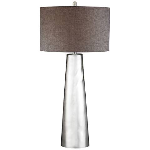 Jasmine Tapered Cylinder Mercury Glass Table Lamp