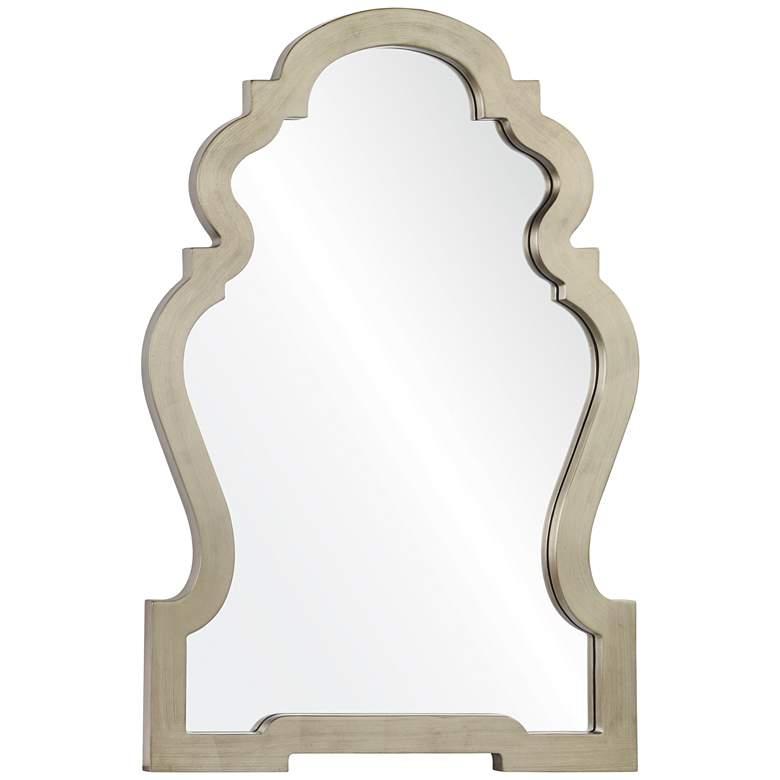 "Holborn Silver 26"" x 36 1/2"" Framed Wall"