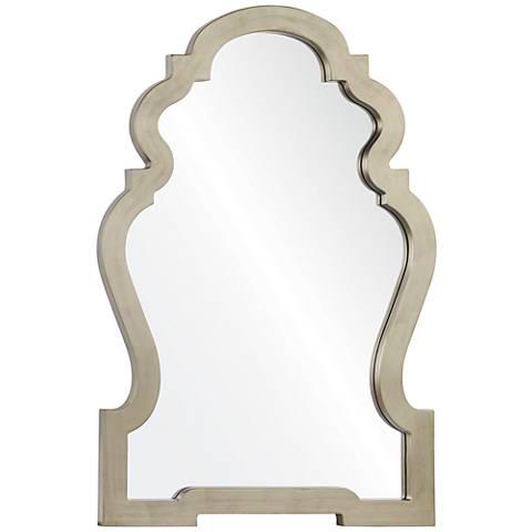 """Holborn Silver 26"""" x 36 1/2"""" Framed Wall Mirror"""