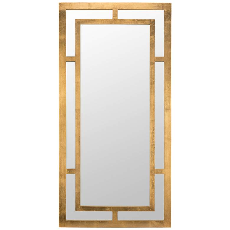 """Benedict Gold 20"""" x 40"""" Rectangle Wall Mirror"""