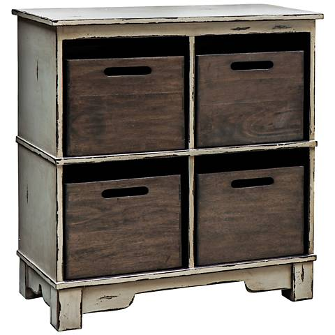 Uttermost Ardusin Gray Hobby Cupboard Accent Cabinet