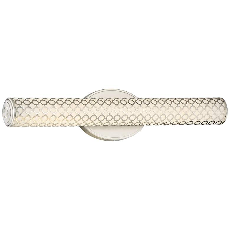 "George Kovacs Dots 24 1/2""W LED Brushed Nickel"
