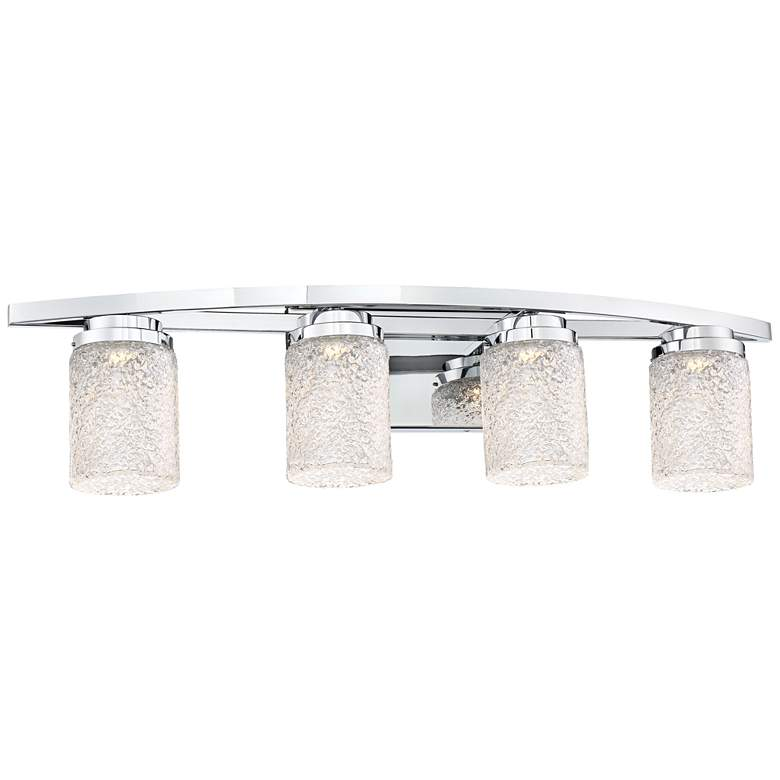 "George Kovacs Brilliant 32"" Wide Chrome 4-LED Bath"