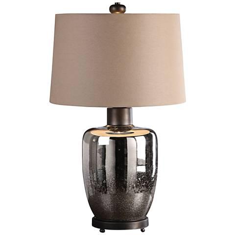 Uttermost Lavelle Antique Silver Mercury Glass Table Lamp