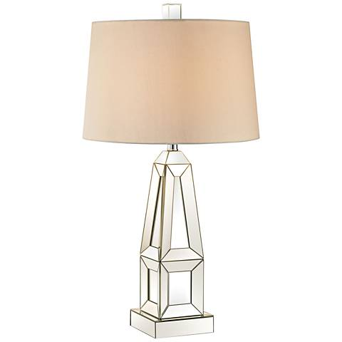 Dimond Modern Obelisk Glass Table Lamp
