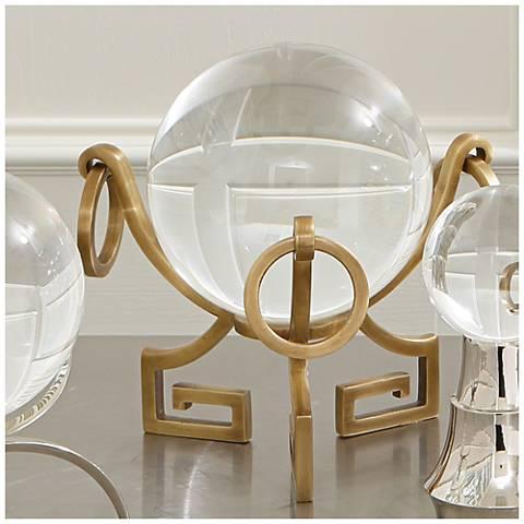 Greek Brass Metal Key Stand