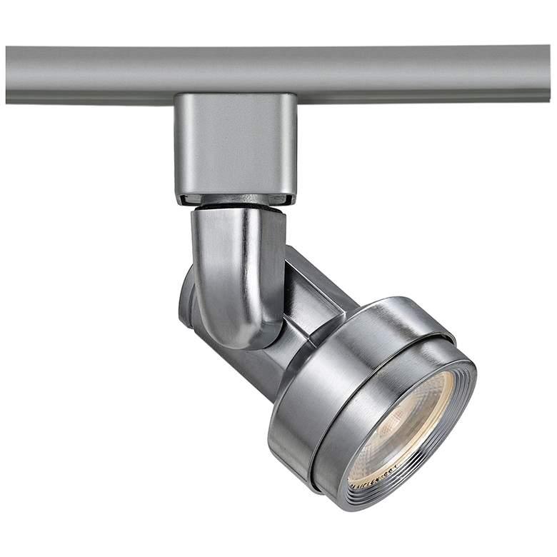 Riley Brushed Steel 10 Watt LED Track Head for Juno