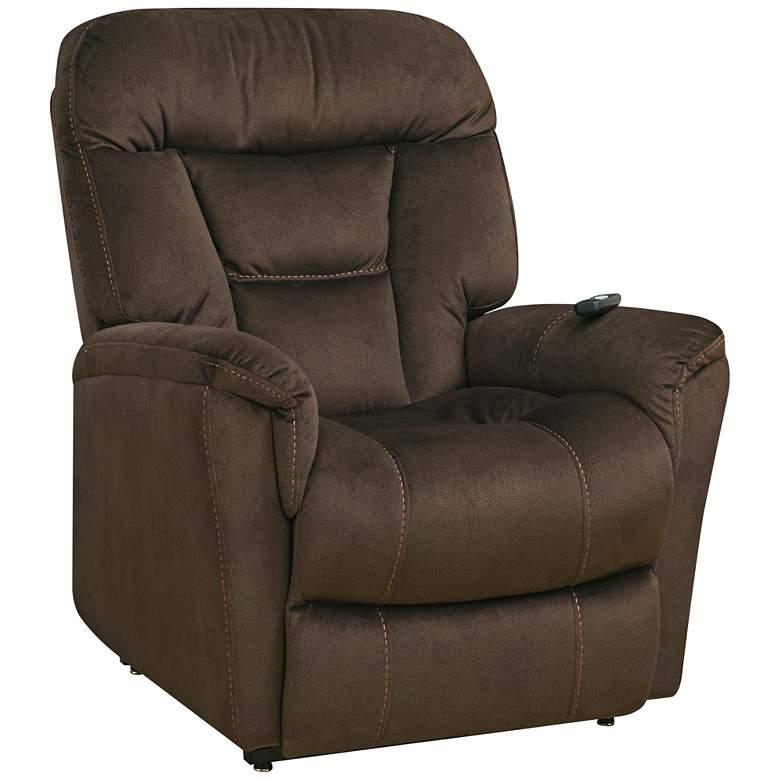 Serengeti Dark Brown Dual-Motor Recliner Lift Chair
