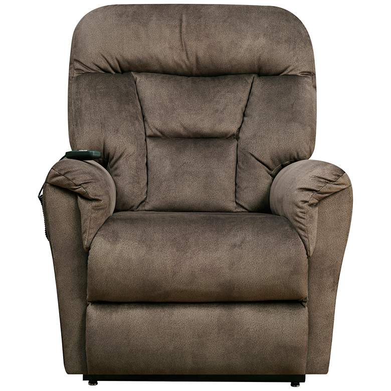 Serengeti Light Brown Dual-Motor Recliner Lift Chair