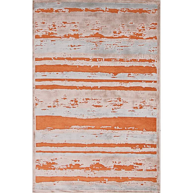 Jaipur Fables RUG121771 2'x3' Orange Modern Abstract Area